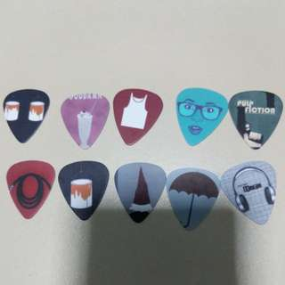 Assorted Graphic/Cartoon Guitar Picks