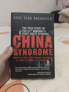 China Syndrome by Karl Taro Greenfeld