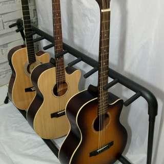 Rak gitar atau stand gitar isi 9