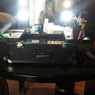 Gladking Make up trolley with Vanity mirror