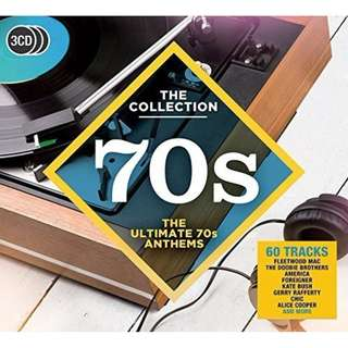 Various Artists / The Collection 70s: The Ultimate 70s Anthems - Audio CDs