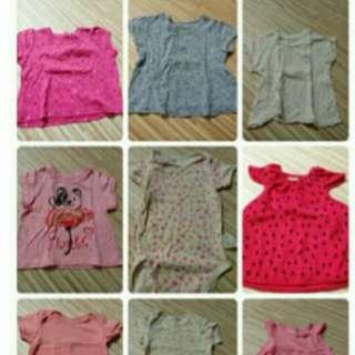 20件女寶衣物