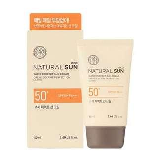 Natural Sun SPF 50+ PA+++