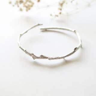 森林的秘密手環 金屬樹枝設計造型手環