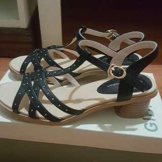 Gibi sandals (blk38)