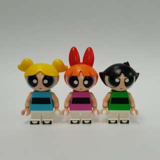 Authentic Powerpuff Girls Lego Dimensions - Blossom, Buttercup, Bubbles