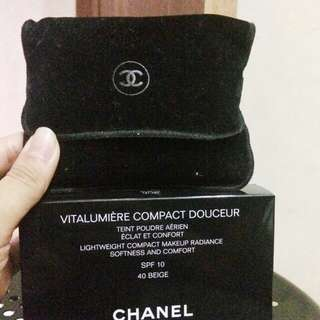 Channel Compact powder 40 beige
