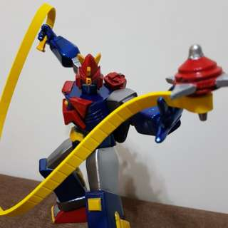 "10"" Super Posing Voltes V with poseable Electromagnetic Top and Belt"