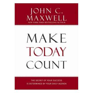 [eBook] Make Today Count - John Maxwell
