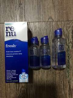 Renu Contact Lens Solution Bausch + Lomb