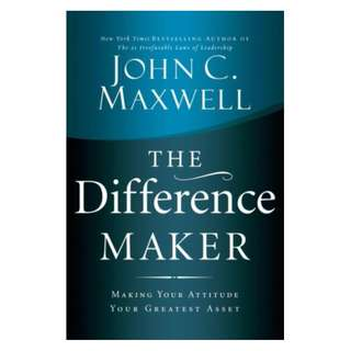 [eBook] The Difference Maker - John Maxwell