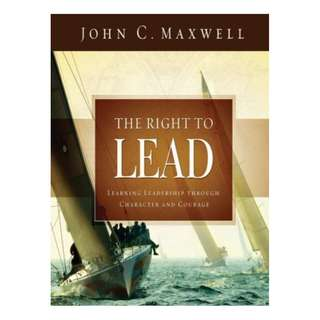 [eBook] The Right to Lead - John Maxwell