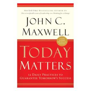 [eBook] Today Matters - John C. Maxwell