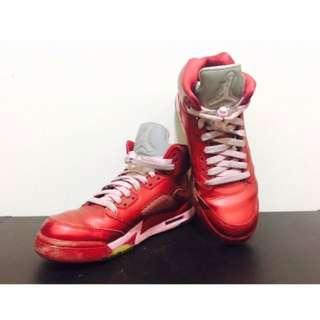 Nike Jordan 五代情人節