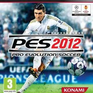 PS3 PES 2012