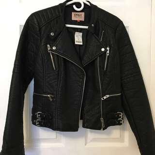 Mendocino Black Leather Jacket