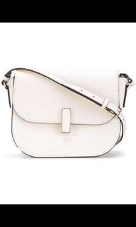 Valextra white shoulder bag 用過一次,勁新, 大塵袋,有証書