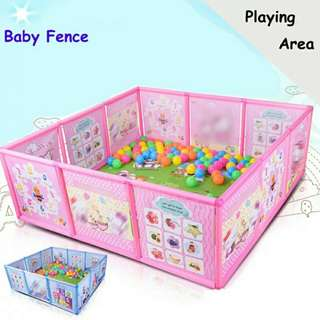 Kids playpen with free 50 play balls!