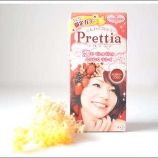 【全新絕版收藏品】日本花王Prettia泡泡染~超人氣限定色Strawberry草莓棕/可面交。