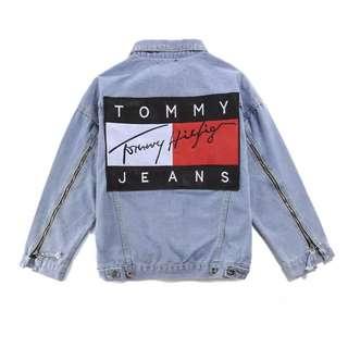 Tommy Hilfiger Denim Jacket, Outerwear wear, Men, Unisex