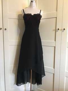 Maxi dress/ evening wear/ hi lo dress/ lace bustier dress/ prom dress/ tube dress/wedding/ dnd dress/ events/ dress