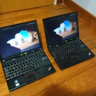 2 Sets Lenovo X201 ultrabook,i5,sim slot