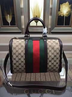 面交 Gucci 古奇247205 經典枕頭包  33cm  多色可選