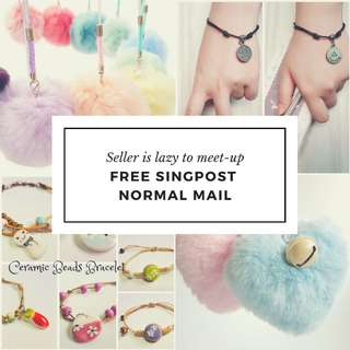 ⚘Latest Deal⚘Free Singpost Normal Mail For Selected Items