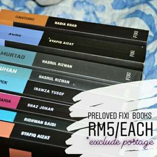 Fixi Novel RM5/each