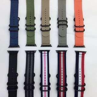 Apple Watch 錶帶 尼龍質料