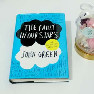 Novel The Fault in Our Stars - bahasa inggris