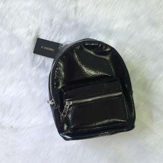 Forever 21 Leatherette Small Backpack