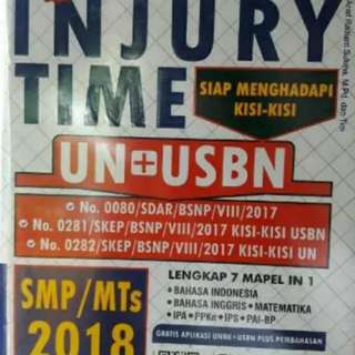 INJURY TIME UN USBN SMP MTS 2018