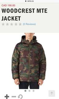 Men's VANS MTE Camo Jacket