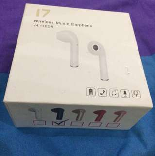 i7 Wireless Music Earphone Single