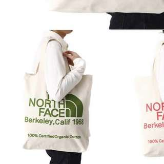 The North Face Organic Cotton Bag 麻布袋