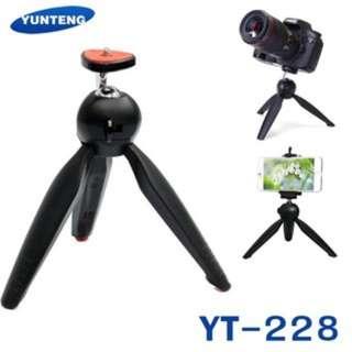 YUNTENG YT-228 Mini Tripod Selfie Stand
