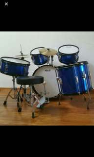 Miller Junior 5 Piece Drumset