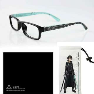 [台版]刀劍神域 平光眼鏡 鏡框 全新 限量品