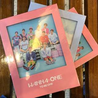 WANNA ONE ~ To Be One 1x1=1 (Ready Stocks)