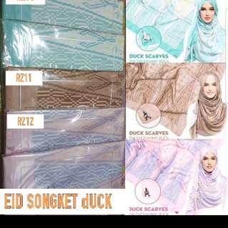 ☆INSTOCK☆ Eid Songket dUCkscarves