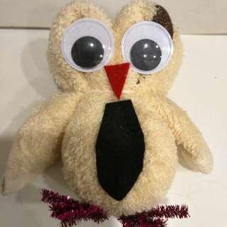 Handmade towel owl