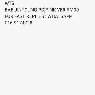 WTS BAE JINYOUNG PC PINK VER (TO BE ONE)