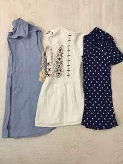Take all Forever 21, Kashieca, True love blouses