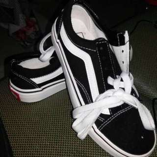 Brand New Vans off the wall oldskool old skool sneakers shoes sneaker shoe low-top black #Fesyen50