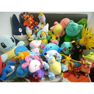 Pokemon Soft Toys