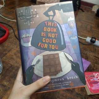 English Novel ( This Book Is Not Good For You )