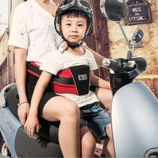 Motorcycle child safety strap