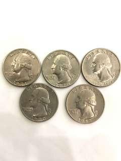 United State quarter dollar