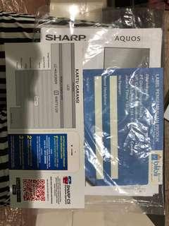 Dijual TV SHARP AQUOS LED 40 inch murah